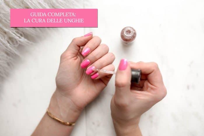 Un articolo sulla cura delle unghie