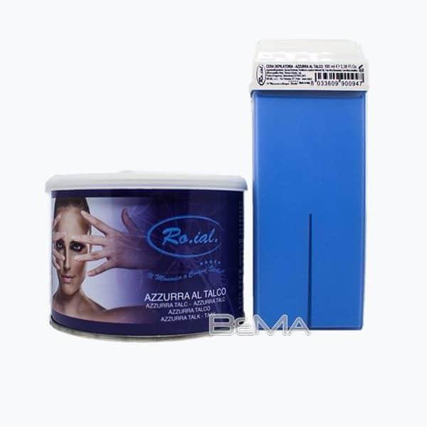 Cera depilatoria - Azzurra al talco