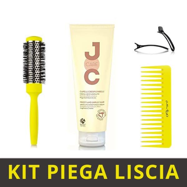 Kit-piega-liscia-facile-da-realizzare-a-casa-giallo-fluo-