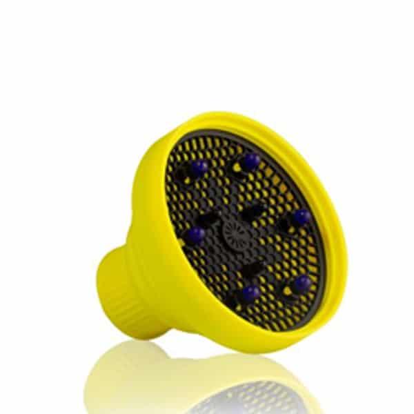diffusore pieghevole in silicone Gettin fluo labor giallo
