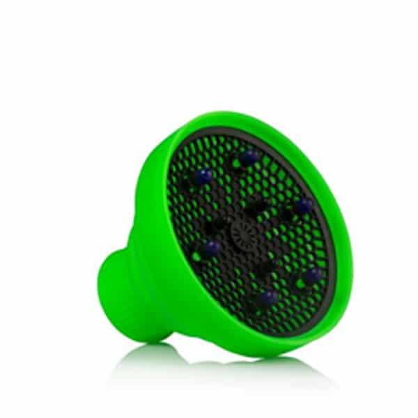 diffusore pieghevole in silicone Gettin fluo labor verde